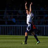 Marc Márquez celebrando el gol