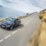 Mercedes-Benz Clase-C 2014, exterior, vista superior