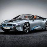 BMW i8 spyder concept 2012, estudio, tres cuartos delantera