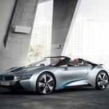 BMW i8 spyder concept 2012, exterior, tres cuartos delantera