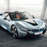 BMW i8 spyder concept 2012, exterior, tres cuartos delantera superior