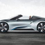 BMW i8 spyder concept 2012, exterior, lateral