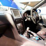 Nissan Skyline GT-R: Desde el lado del pasajero