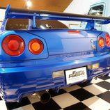 Nissan Skyline GT-R: Imponente trasera