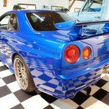 Nissan Skyline GT-R: Parte trasera
