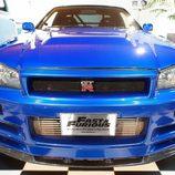 Nissan Skyline GT-R: Vista frontal