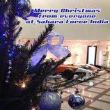 Felicitación navidad 2013 Force India
