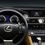 Lexus RC coupé interior 003