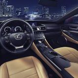 Lexus RC coupé interior 001