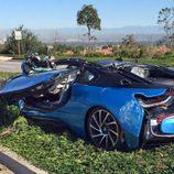 BMW i8 Orange County - rear