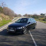 Prueba Audi A4 - parrilla