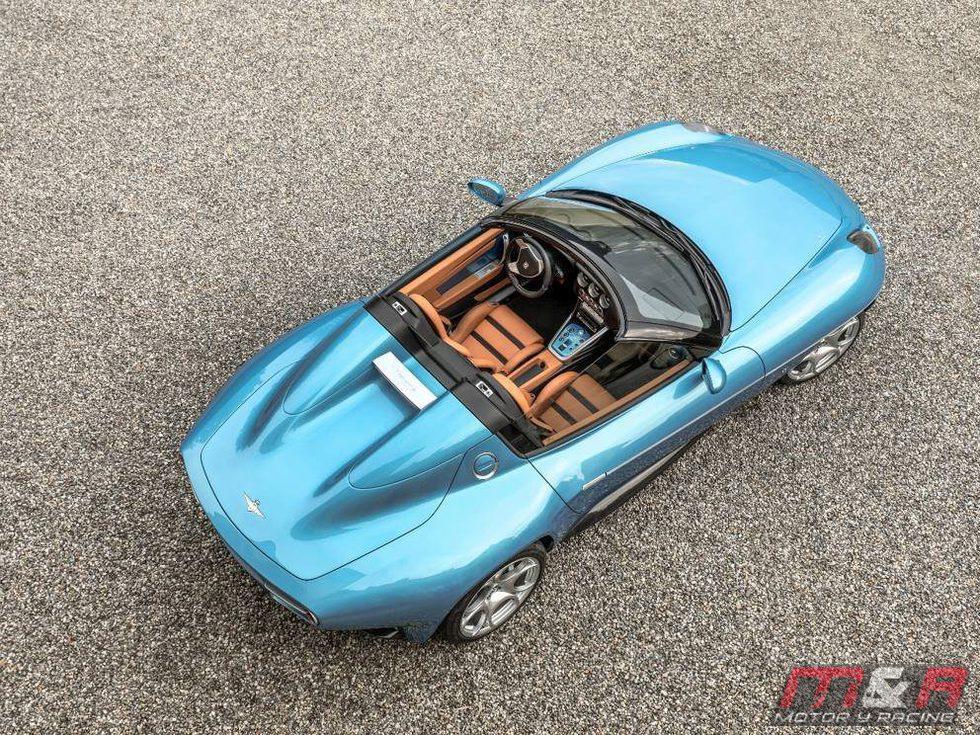 Alfa Romeo Carrozeria Touring Superleggera Disco Volante Spider