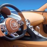 Bugatti Chiron - habitáculo