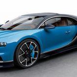 Bugatti Chiron - azul