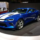 Chevrolet camaro - azul