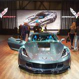 corvette grand sport - frontal