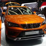 seat ateca - color naranja