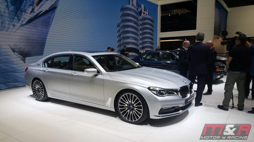 BMW serie 7 - hibrido