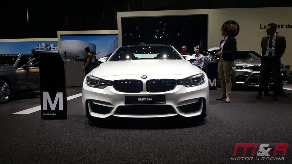 BMW m4 - parrilla