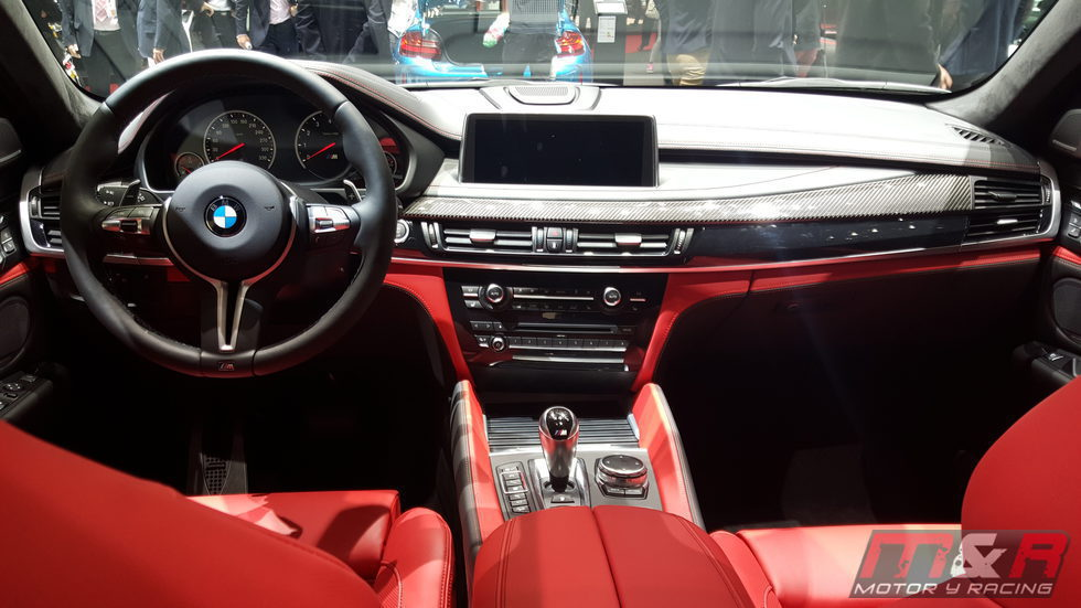 BMW X6 M - cuero