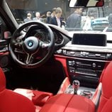 bmw x6 m - interior rojo