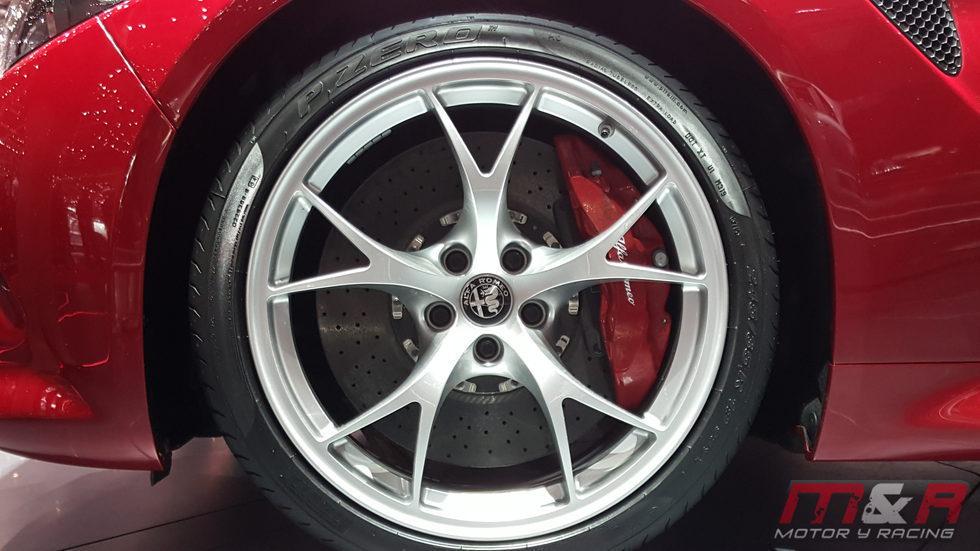 Alfa Romeo Giulia - llantas qv