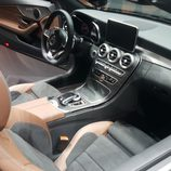 mercedes-benz c cabrio - interior