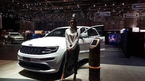jeep cherokee 2016 - chica