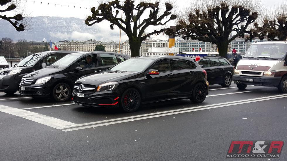 Mercedes-AMG A 45 2016 - Ginebra