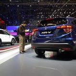Stand de Honda en el Salón de Ginebra - HR-V azul