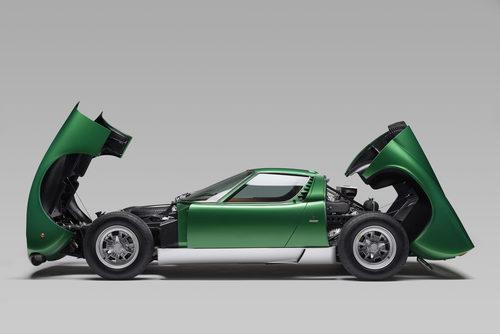 Lamborghini Miura SV 1971 - open