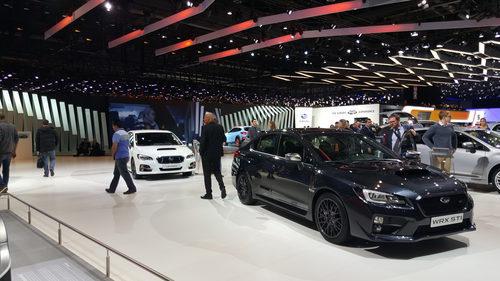 Stand Subaru Ginebra - 2016