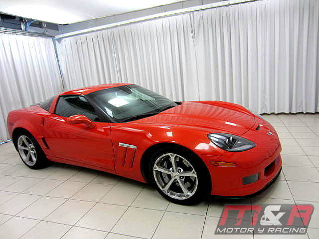 Chevrolet Corvette Grand Sport C6 2010 - red