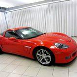 Chevrolet Corvette Grand Sport C6 2010 - red