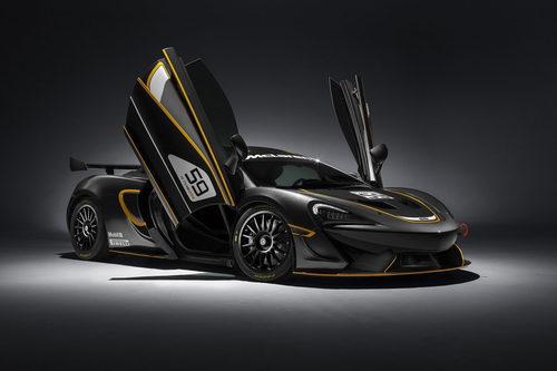 McLaren 570S GT4 - delantera