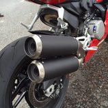 Ducati 959 Panigale - escapes