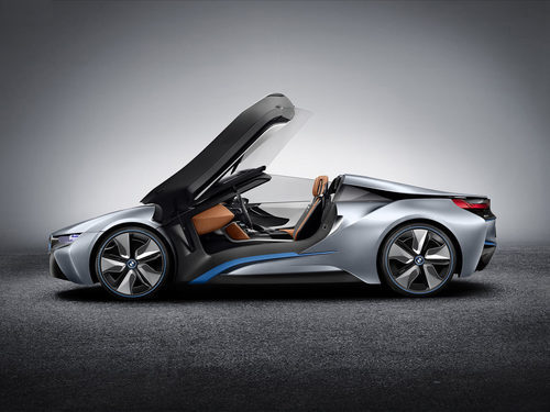 BMW i8 Spyder concept 2012 - open door