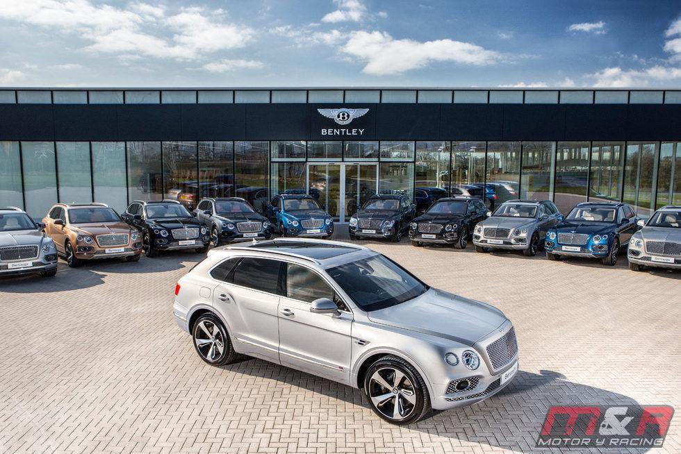 Bentley Bentayga Firs Edition 2016