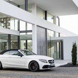 Mercedes-AMG C 63 Cabriolet 2016 - blanco