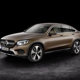 Mercedes-Benz GLC Coupé 2016 - marrón frontal