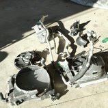 Porsche 918 Spyder accidente - piezas
