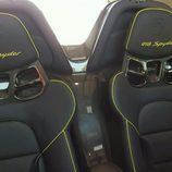 Porsche 918 Spyder accidente - seats