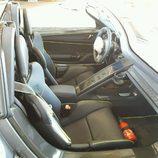 Porsche 918 Spyder accidente - interior