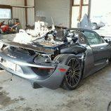 Porsche 918 Spyder accidente - rear
