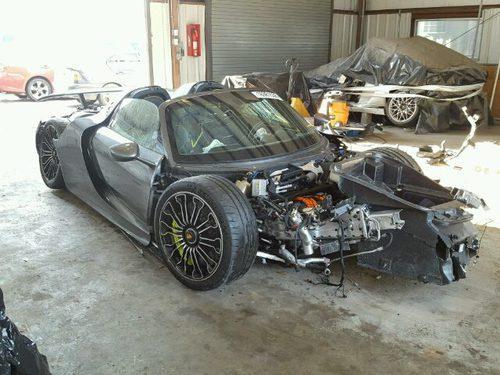 Porsche 918 Spyder accidente - NY