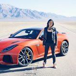 Michelle Rodríguez - Jaguar F-Type SVR Coupe