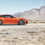 Jaguar F-Type SVR Coupe - side