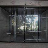Fábrica abandonada Bugatti Campogalliano - puertas