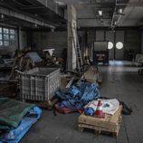 Fábrica abandonada Bugatti Campogalliano - enseres
