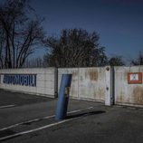 Fábrica abandonada Bugatti Campogalliano - entrada